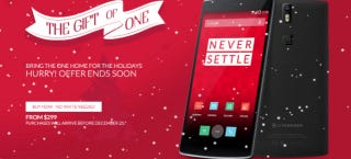 Illustration for article titled You Can Buy a OnePlus One Without an Invite Until They Run Out