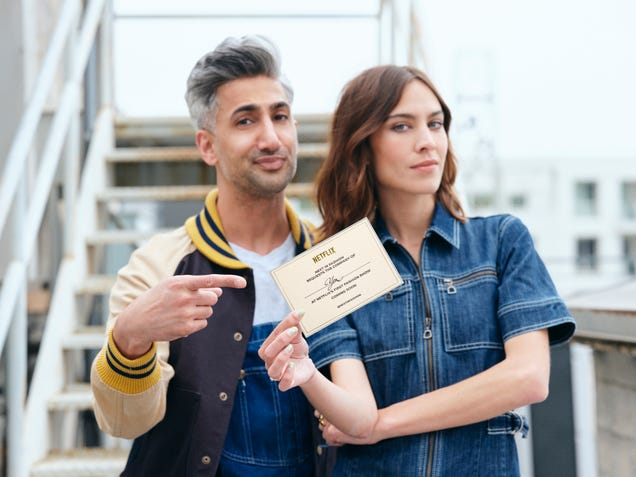 Tan France and Alexa Chung to host Netflix's new fashion competition, Next In Fashion