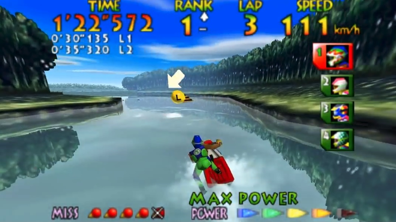 Illustration for article titled Wave Race 64 Player Spends Nine Years Shaving Less Than Two Seconds Off Record