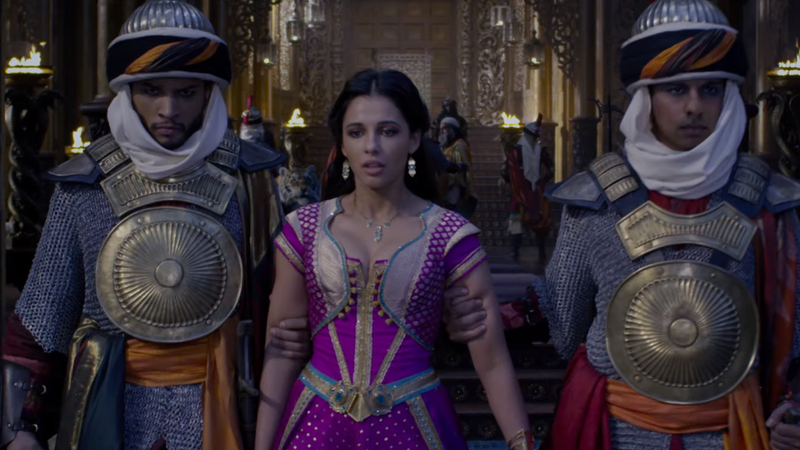 Jasmine Embraces Her Rebellious Streak in This Clip of One of the Live-Action Aladdin's Original Songs