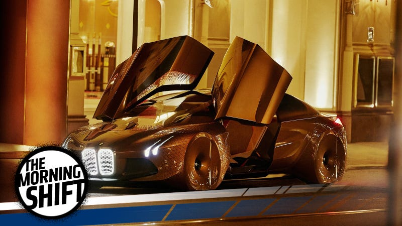 BMW's Vision Next 100 concept of 2016 was all-electric. Photo: BMW