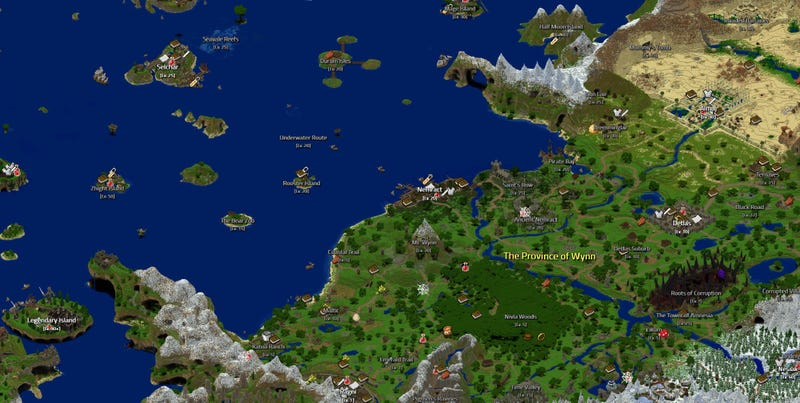 A Giant MMO Made Entirely Inside Minecraft