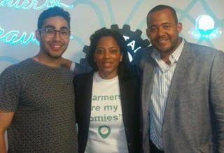Entrepreneurs in Residence Joel Rojo, Riana Lynn and Talib Graves-MannsJulie Walker/The Root