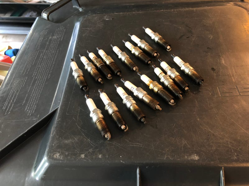 Pictured: too many goddamn spark plugs