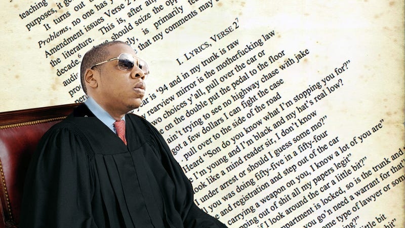 "Illustration for article titled A Legal Analysis Of Jay-Z's ""99 Problems"""