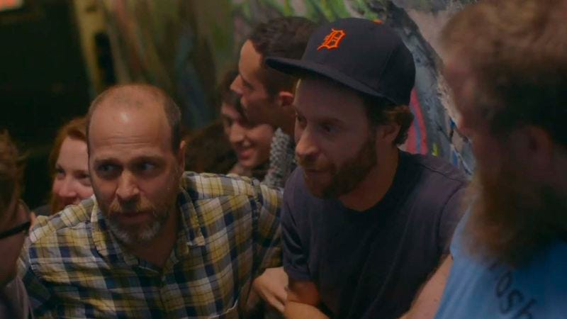 Illustration for article titled Watch Superchunk's new video featuring Jon Glaser and H. Jon Benjamin