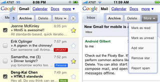 Illustration for article titled New and Improved Gmail, Google Calendar for iPhone and Android