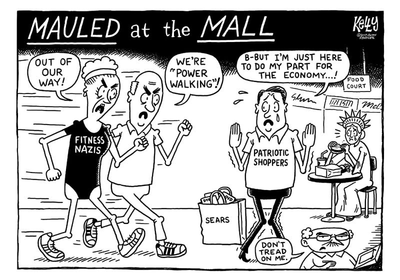 Illustration for article titled Mauled At The Mall