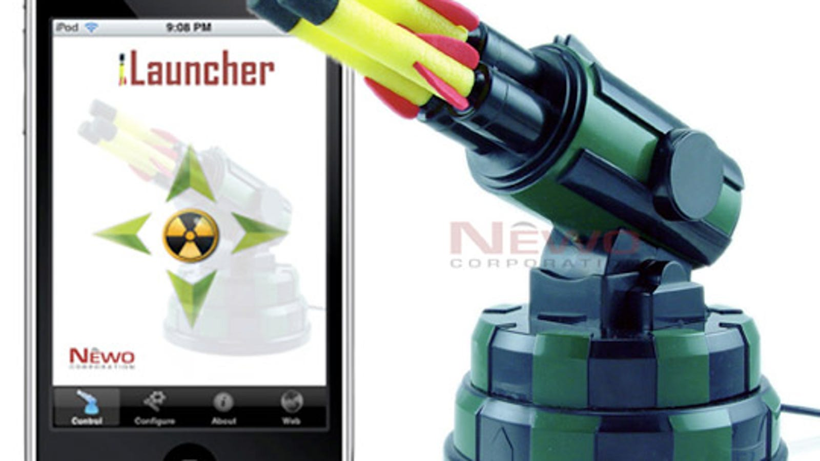 iLauncher Gives You iPhone Controls for USB Missile Launcher