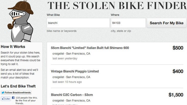 racklove stolen bike finder The bike hawk gps tracker has huge potential to fight bike crime and make criminals think twice the hidden gps tracker that's also a cycle computer (video.