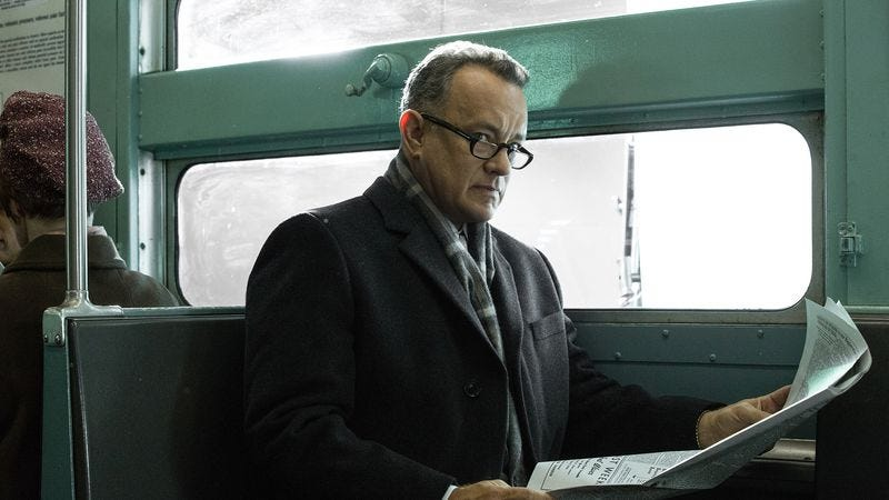 Illustration for article titled Steven Spielberg's superb Bridge Of Spies pits Tom Hanks against the Cold War