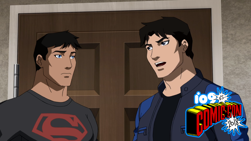 Superboy and Nightwing in Young Justice: Outsiders.