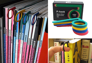 Illustration for article titled P-Hook Bookmark Gives You Something To Grab
