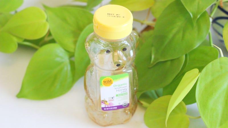 Make a Vinaigrette Inside an Almost Empty Honey Bottle