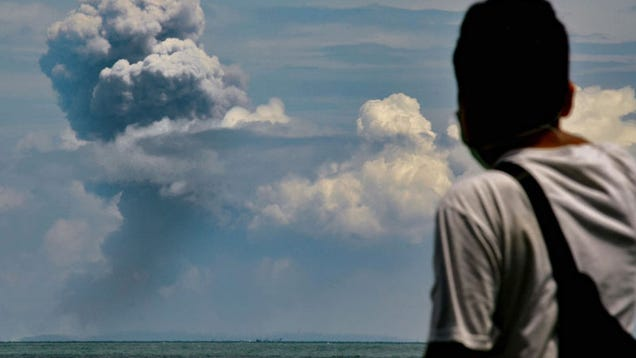 This Video of the Anak Krakatau Volcano Erupting Will Make You Grateful You Stayed Home