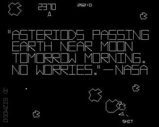 Illustration for article titled NASA: Two Asteriods (sic) Passing Near Earth, No Worries