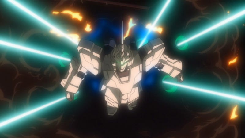 Illustration for article titled Here's What You'll Want To Know Before Watching Gundam Unicorn