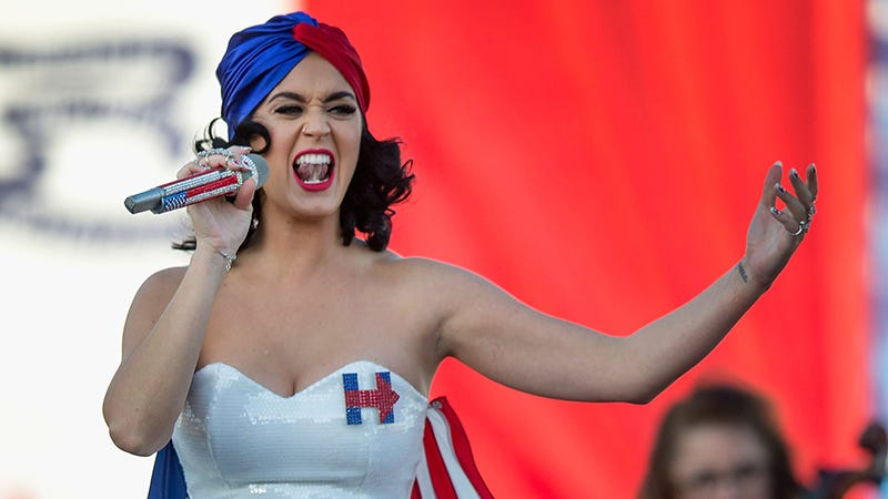 Illustration for article titled It Seems Katy Perry, Like Most of America, Didn't Vote In the 2014 Midterms
