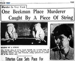 Illustration for article titled This Baffling 1936 Murder Was Solved With A Hair And A Piece Of String