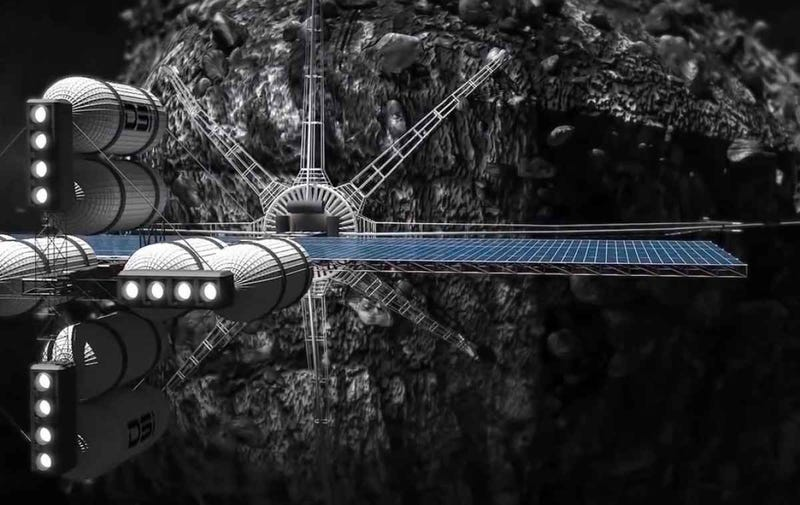 Illustration for article titled Luxembourg Wants to Be a Global Leader in Asteroid Mining