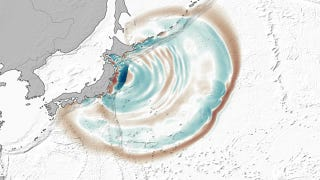 Illustration for article titled Japan's tsunami created large dunes on the ocean floor