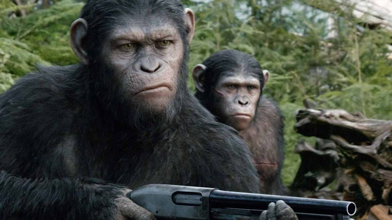 Illustration for article titled Dawn of the Planet of the Apes Is the Most Upsetting Dystopia of All