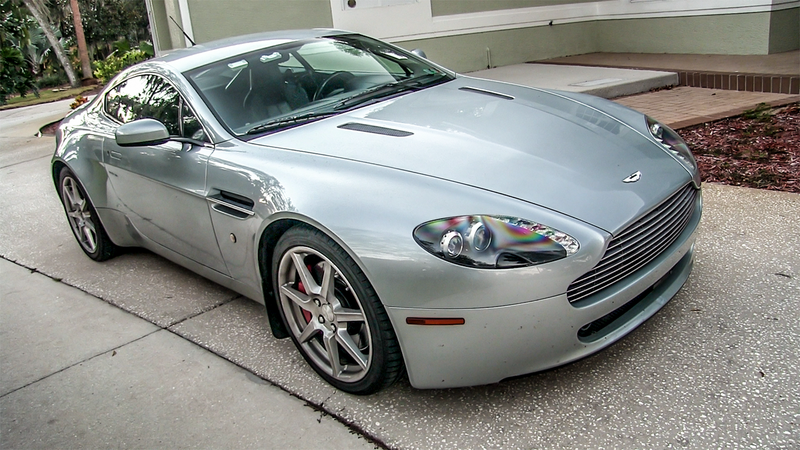 Illustration for article titled Here's Everything Wrong With My $36,000 Aston Martin V8 Vantage