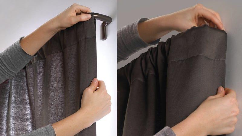 Umbra Twiliight Room Darkening Curtain Rod | $27 | Amazon