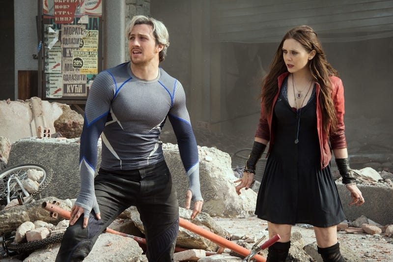 Illustration for article titled Quicksilver And Scarlet Witch's Avengers 2 Movie Origins Revealed