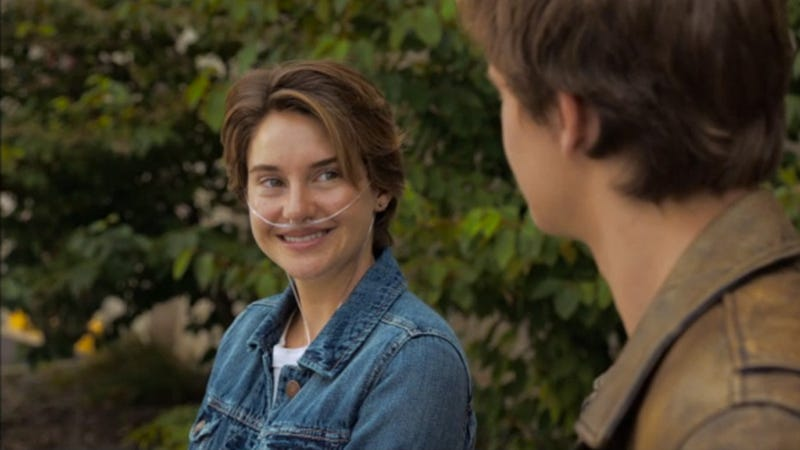 Illustration for article titled First Clip From The Fault in Our Stars Is an Adorable Anti-Smoking Ad