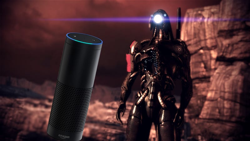 Illustration for article titled One Of Mass Effect's Best Moments Is An Amazon Echo Easter Egg