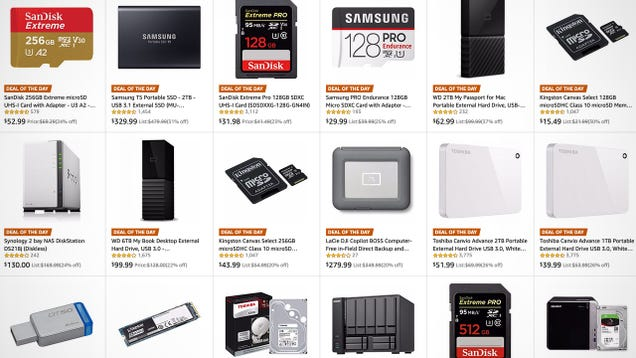 There s Something For Everyone In Amazon s World Backup Day Sale