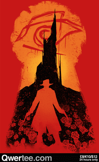 Illustration for article titled A beautiful, moody t-shirt to celebrate the Dark Tower novels