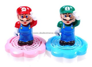 Illustration for article titled Mario and Luigi Air Fresheners
