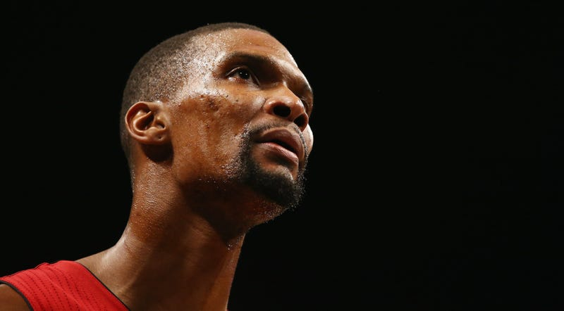 Illustration for article titled Reports: The Heat Are Scared Chris Bosh's Blood Clots Have Returned