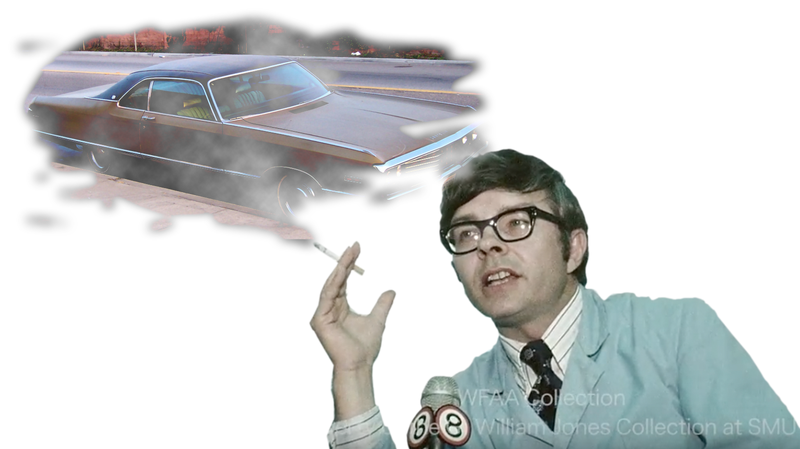 Illustration for article titled This Is What A Smoking 1970s Scientist Thinks What You Drive Says About You