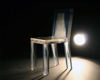 Illustration for article titled Ghost in the Chair Design is Milky not Spooky