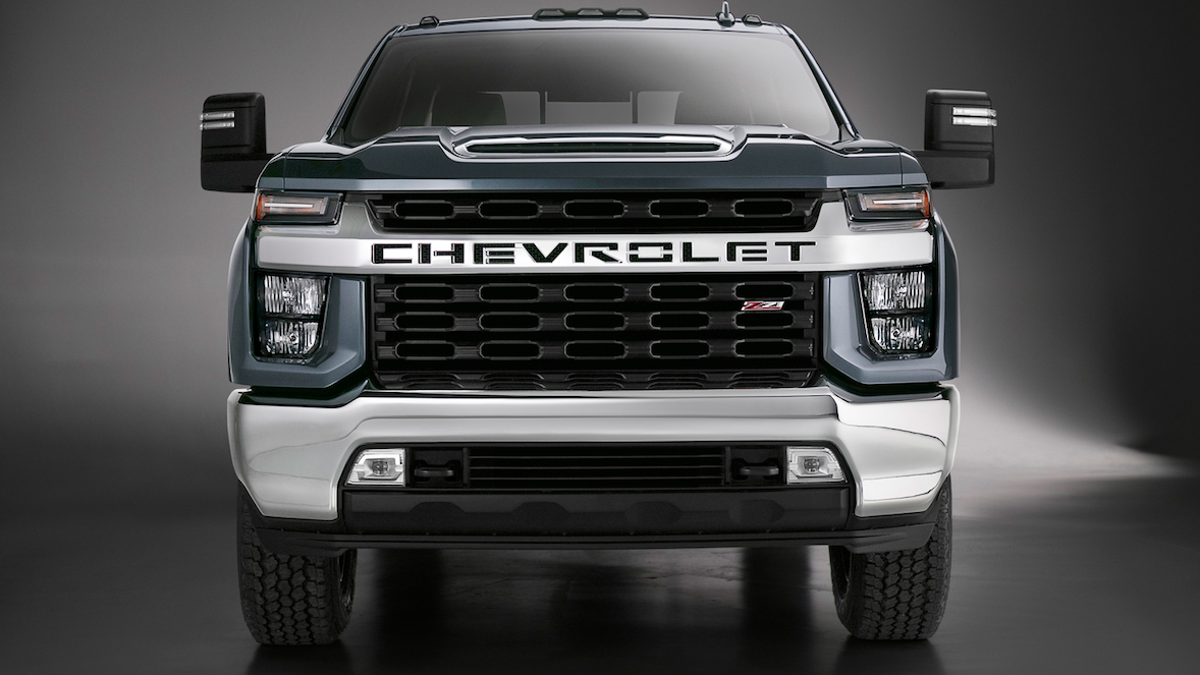 The 2020 Chevrolet Silverado Hd High Country Fixes The Face Kind Of