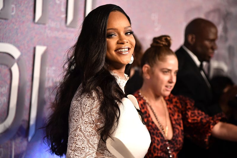 Rihanna attends her 4th Annual Diamond Ball at Cipriani Wall Street on September 13, 2018 in New York City.
