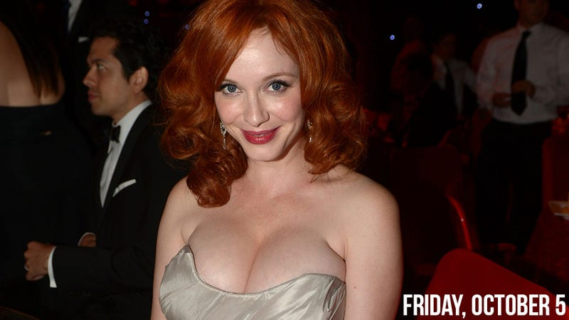 Illustration for article titled Christina Hendricks Loathes Being Called 'Full-Figured'