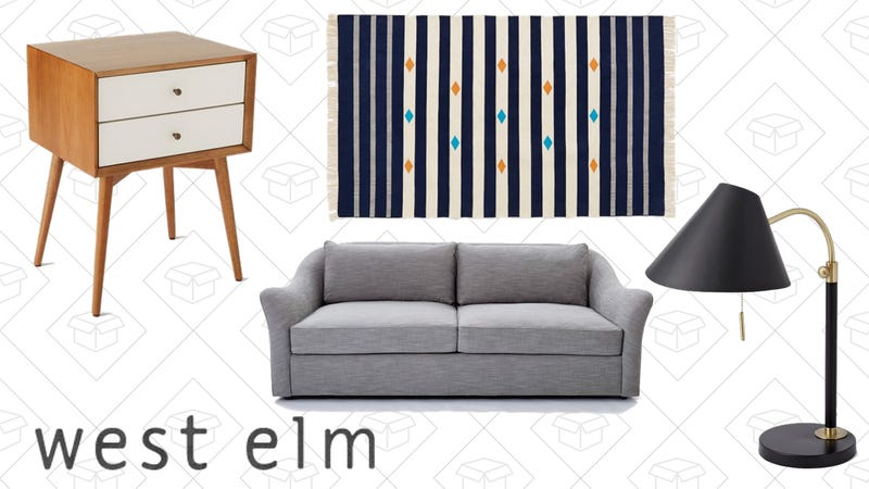 West Elm, 70% Off Summer sale plus free shipping with code ICEICEBABY