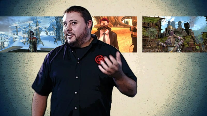 Illustration for article titled Funcom's Three MMO Worlds Are In His Hands. What Will He Do?