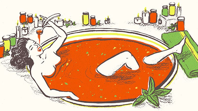 Illustration for article titled Here Is What It's Like to Do a 'Soup Cleanse'