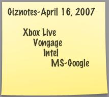 Illustration for article titled Giznotes