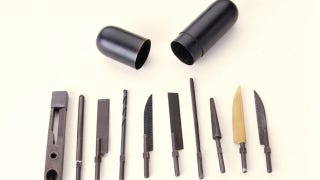 Illustration for article titled CIA and KGB Spy Weapons: Rectal Escape Kits, Turd Transmitters and Lipstick Guns