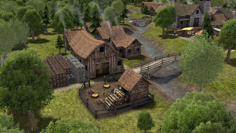 Illustration for article titled Banished Is A City Builder That's All About Choices