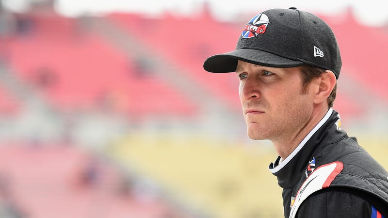Kasey Kahne at the Auto Club 400 weekend in California earlier this year.