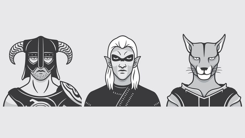 Illustration for article titled The People (Well, Mugshots) of Skyrim