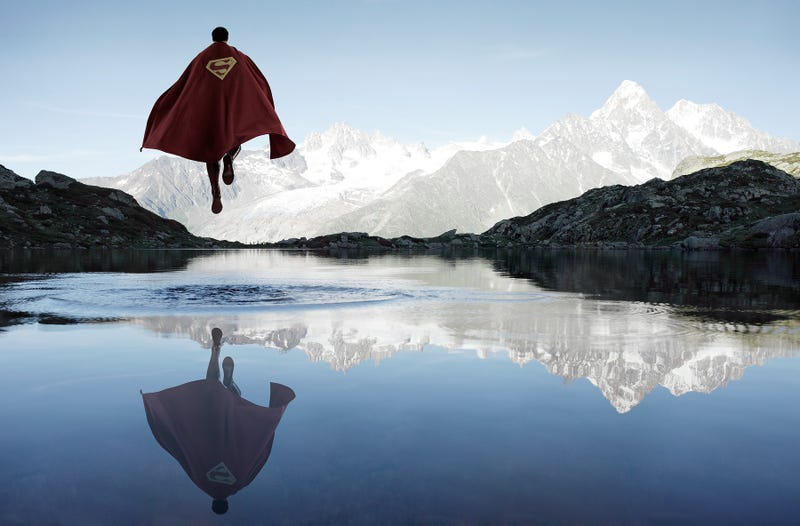Illustration for article titled Totally Gorgeous Photos Of Superheroes Spending Time In Nature