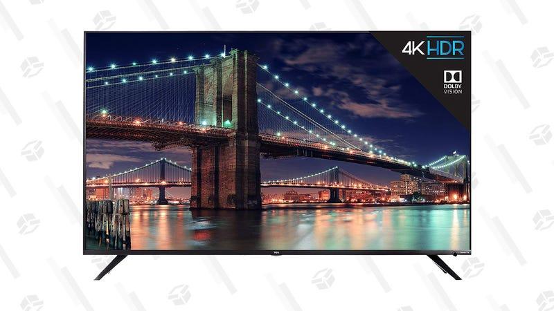 TCL 65R617 65-Inch 4K Ultra HD Roku Smart LED TV | $794 | Amazon